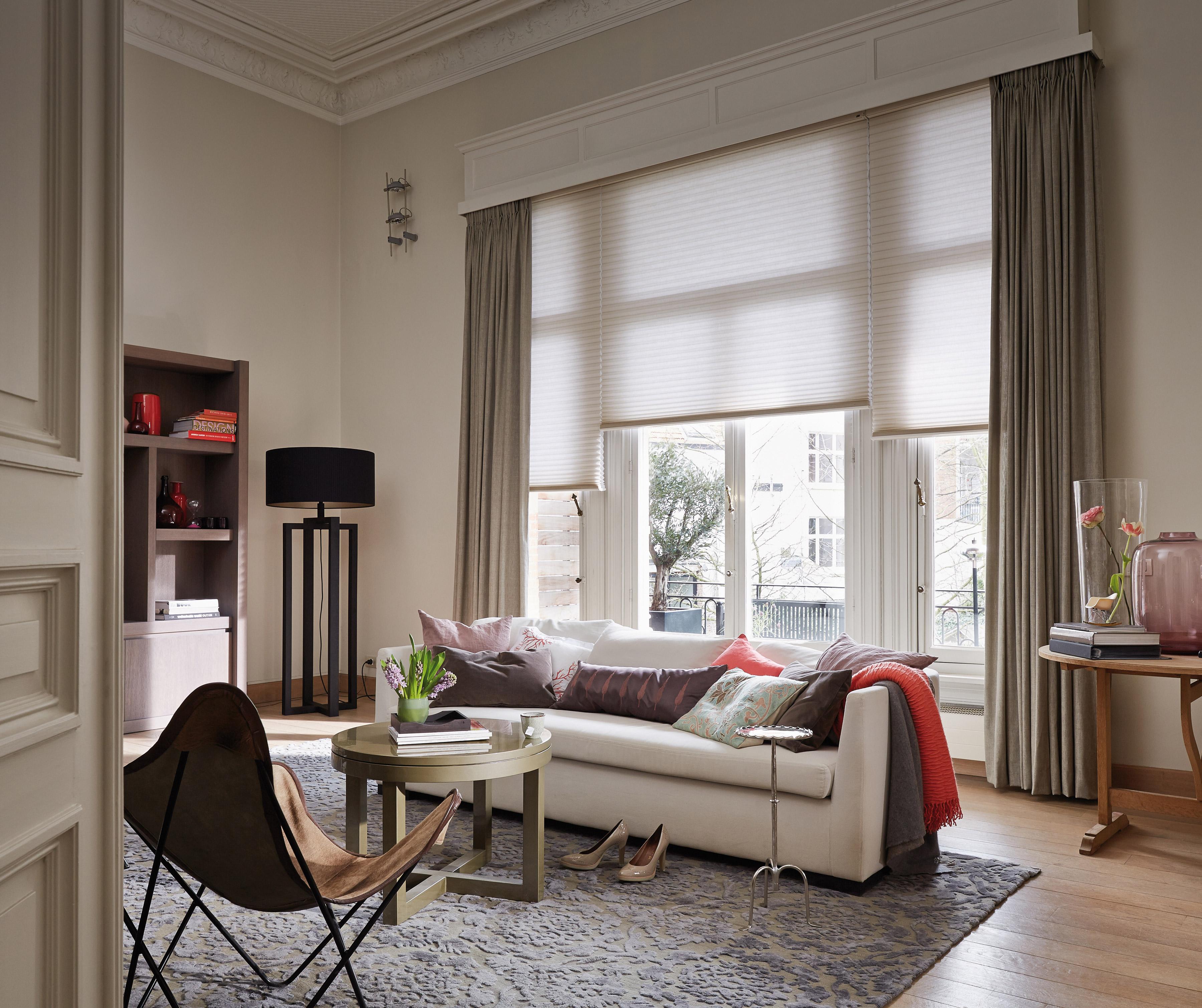 plissee duette heim haus. Black Bedroom Furniture Sets. Home Design Ideas