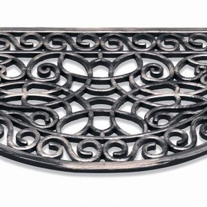 312-Inca-45x75cm-004-Silver-Halfround